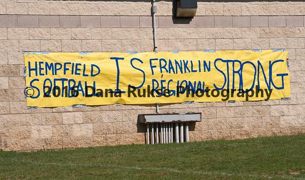Hempfield Softball VS Franklin Regional 4-17-2014