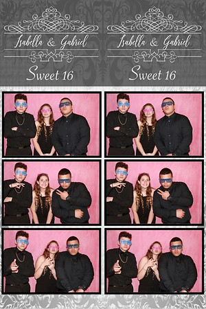 Isabella&Gabriel Sweet sixteen