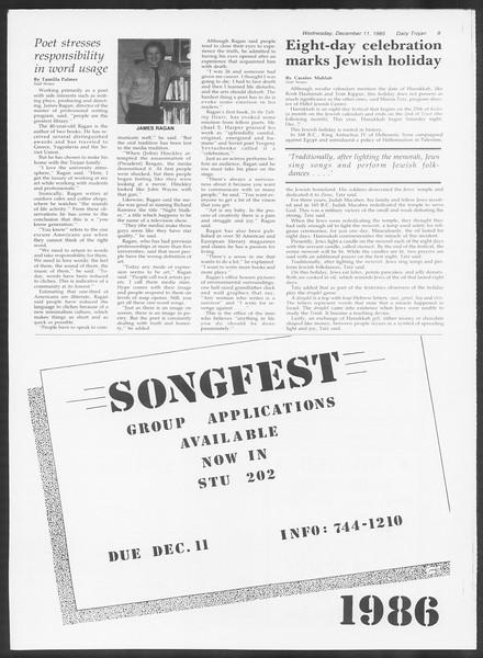 Daily Trojan, Vol. 100, No. 65, December 11, 1985