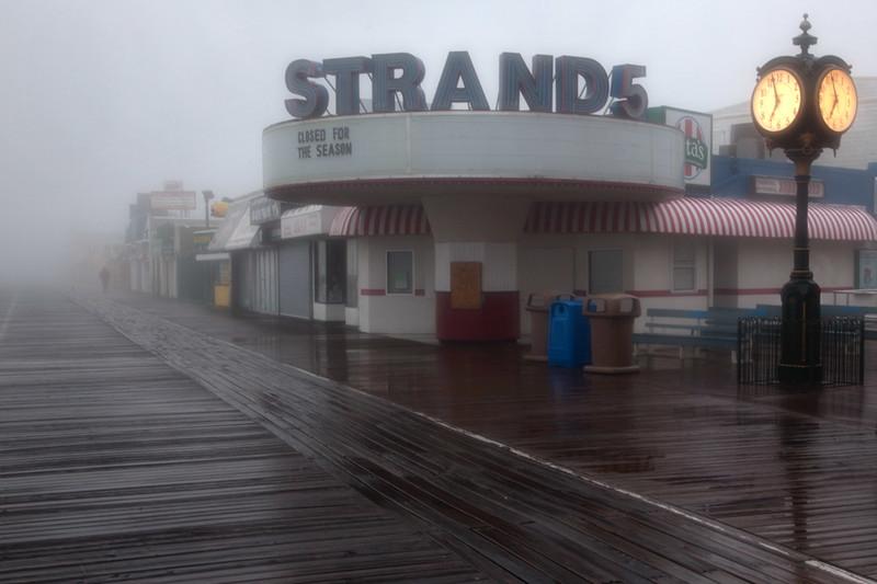 Foggy Morning on the Boardwalk