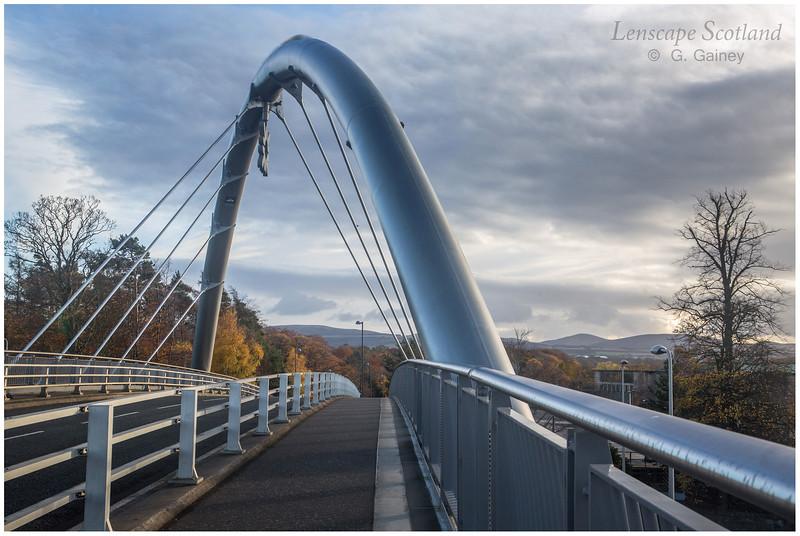 Royal Bank of Scotland Gogarburn access bridge