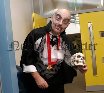 Rathore School Annual Halloween Party on Friday last.Principle Raymond Cassidy.06W44N15