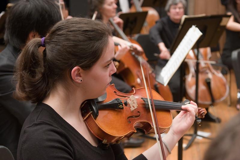 Alexandra Kornbluh, violin -- Hopkins Symphony Orchestra, March 2008