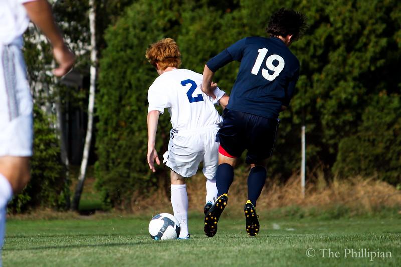 Boys Soccer vs Holderness School 9/29/10