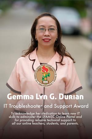 Teacher Awards for Teachers' Day 2020-2021