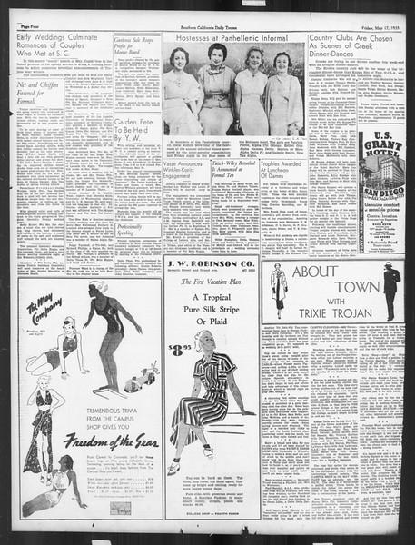 Daily Trojan, Vol. 26, No. 139, May 17, 1935