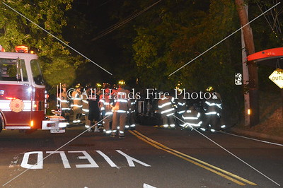 20130919 - Glen Cove - Overturned Auto w/ Entrapment