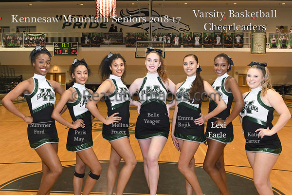 KMHS Basketball Cheer 2018