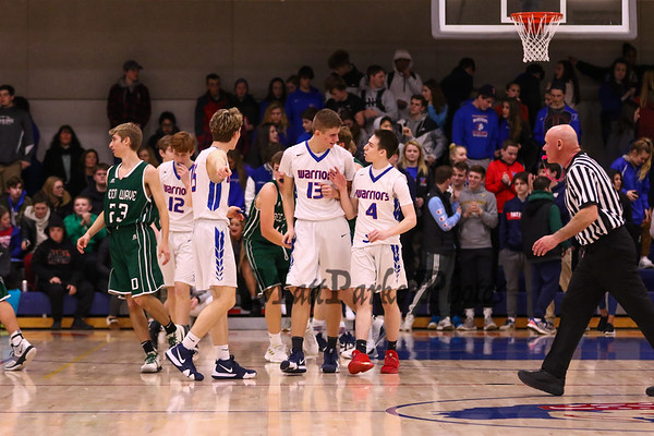 2019-1-25 WHS Boys Basketball vs Dover
