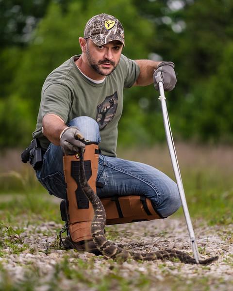 Jimmy George: Blocker Outdoors Snake Guards