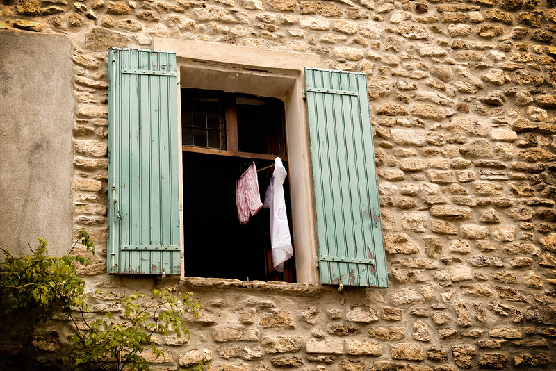 Laundry day in Venasque