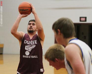 Dundee Basketball 11-19-12