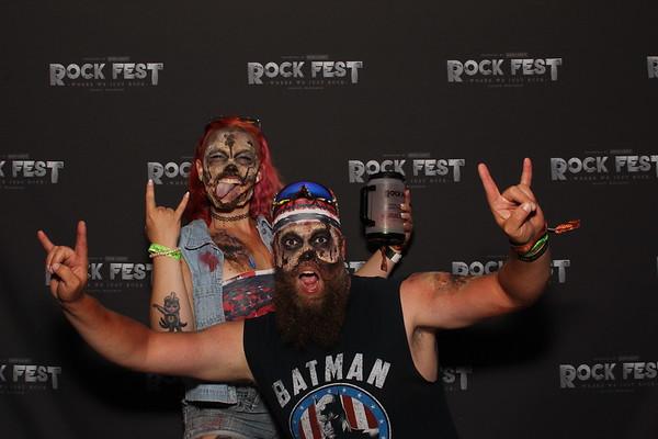 Rock Fest 2021 THURSDAY 7-15-21 VIP TENT IMAGES