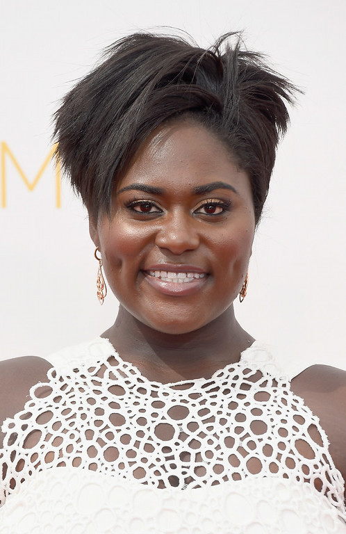 . Actress Danielle Brooks attends the 66th Annual Primetime Emmy Awards held at Nokia Theatre L.A. Live on August 25, 2014 in Los Angeles, California.  (Photo by Frazer Harrison/Getty Images)