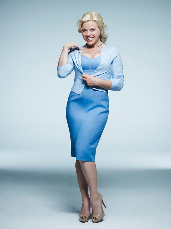 . SMASH -- Season: 2 -- Pictured: Megan Hilty as Ivy Lynn -- (Photo by: Mark Seliger/NBC)