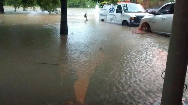 2016 04-18 thru 20th Flooding in Cypress