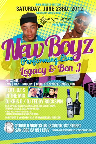 6/23 [New Boyz Live@Studio 8]