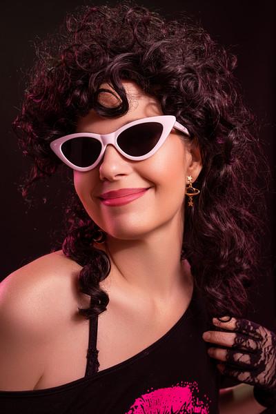 Tonya in the 80s