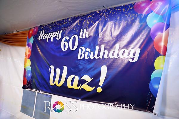 Wazir's 60th Birthday