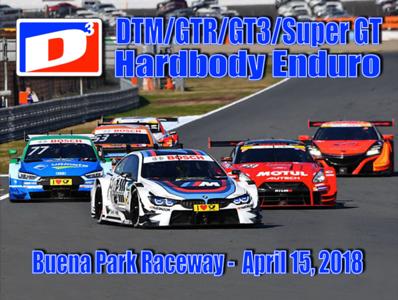 DTM/GTR Hardbody Enduro 4-15-18