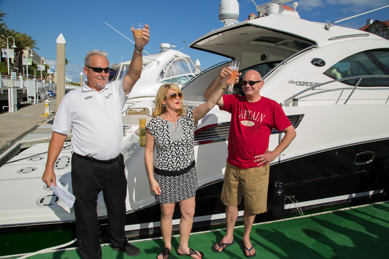Marine Max Yacht Christening Party
