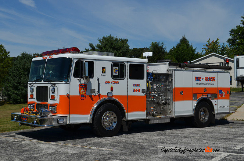 Stewartstown (Eureka Fire Co.) Engine 54-3: 1998 Seagrave 1500/1000
