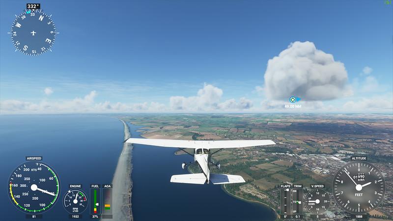 MSFS, Microsoft Flight Simulaor - Sun 23/08/2020@15:59