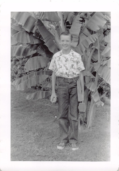 First day 7th grade 1954
