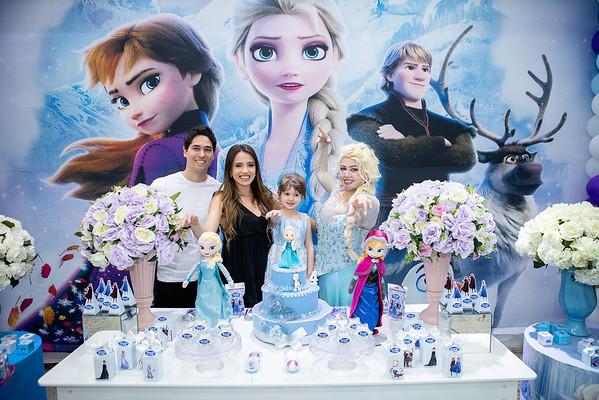 Festa da Frozen no Espaço Algazarra da Valentina