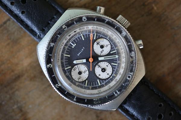 Gallet MultiChron Pilot Chronograph EP 40-68