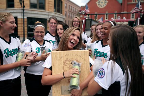 Berkshire U-16 softball to Babe Ruth World Series-073013
