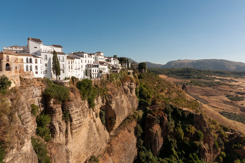 Whitewashed Houses, El Tajo Cliff, Ronda