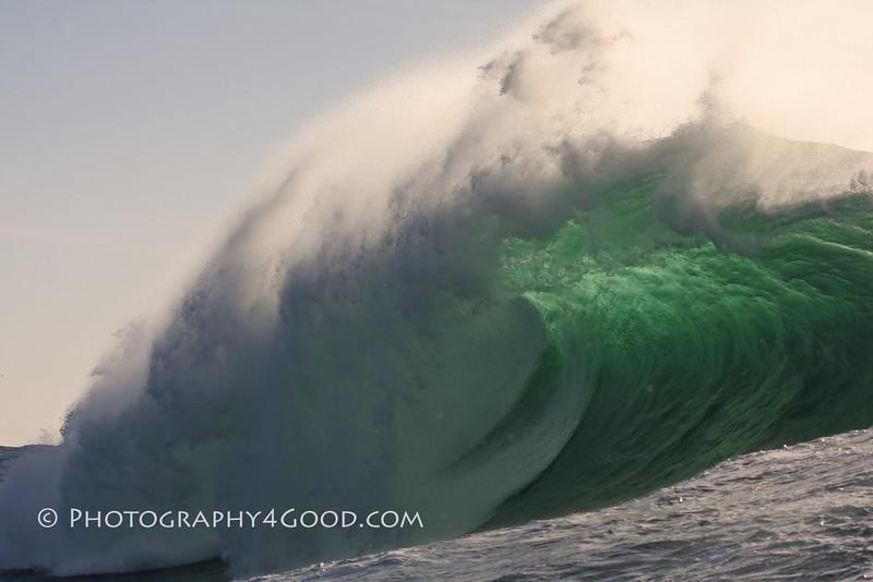 Mavericks wave - beauty and the beast