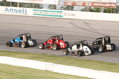 USAC Silver Crown, Toledo Speedway, Toledo, OH, June 29, 2012