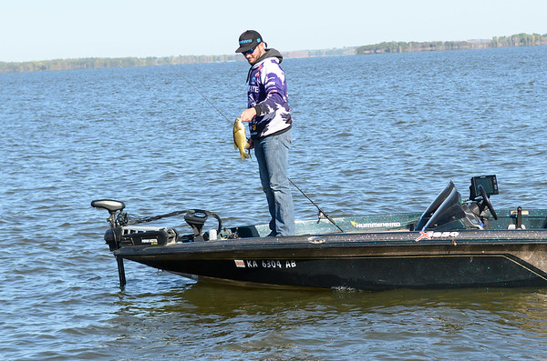 K-State Bass fishing team (Dylan Connell)