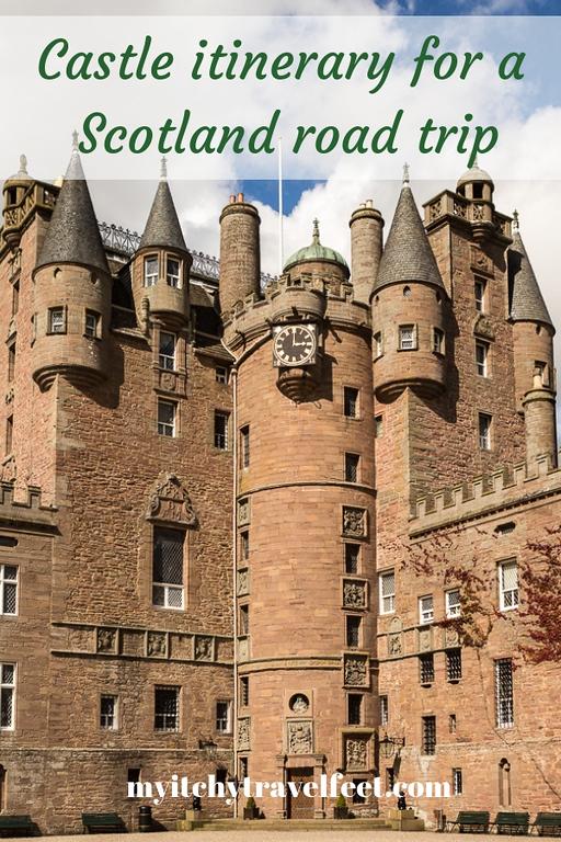 castle itinerary scotland road trip
