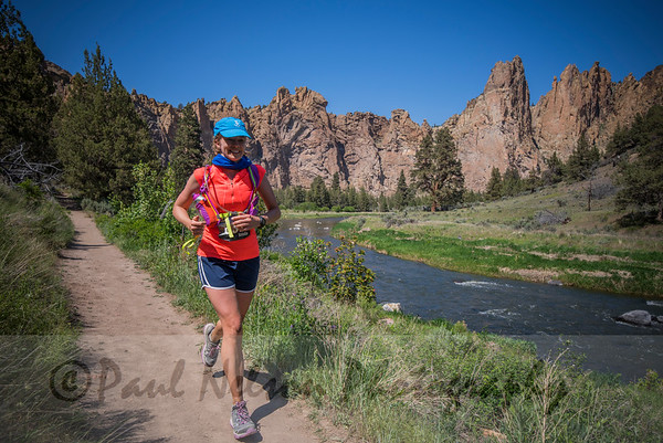 2016 Smith Rock 50K 15 Miler and Finish