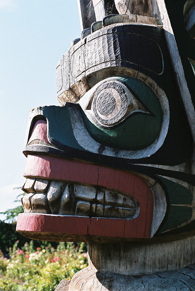 Totem Pole Gift from Canada