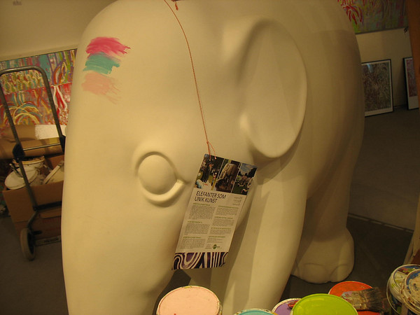Elephant Parade - Copenhagen and Singapore