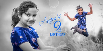 Anam's 9th birthday