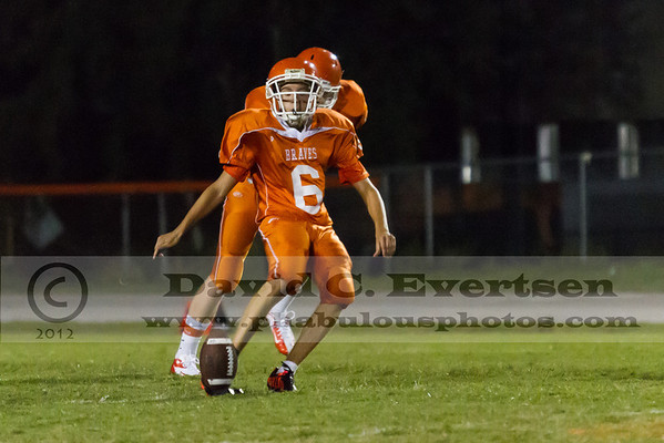 Boone JV Football #6 - 2012