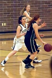Basketball Verrado Varsity Girls vs Youngker 1/11/2011