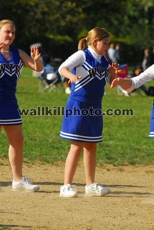 Wallkill Panther Pride vs Pine Bush - Cheerleading - 9-30-07