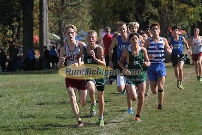 Boys JV 1.5 mile - 2015 Oakland County XC Championship