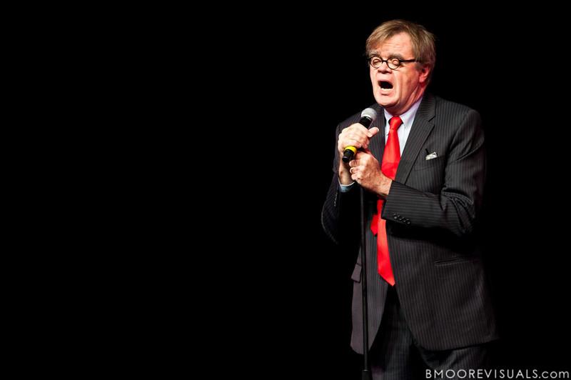 Garrison Keillor performs on November 18, 2010 at Mahaffey Theater in St. Petersburg, Florida