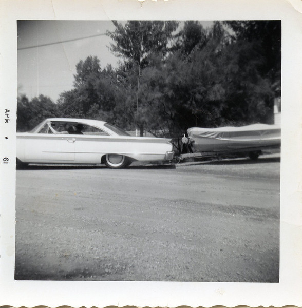 Uncle Butch and Edwin taking off to Black Lake April 1961.jpg