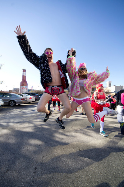 Cupid's Undie Run St. Louis February 16, 2013