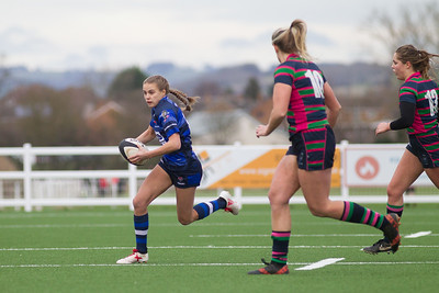Cheltenham Tiger Ladies V Reading Abbey Rugby - 12th January 2019