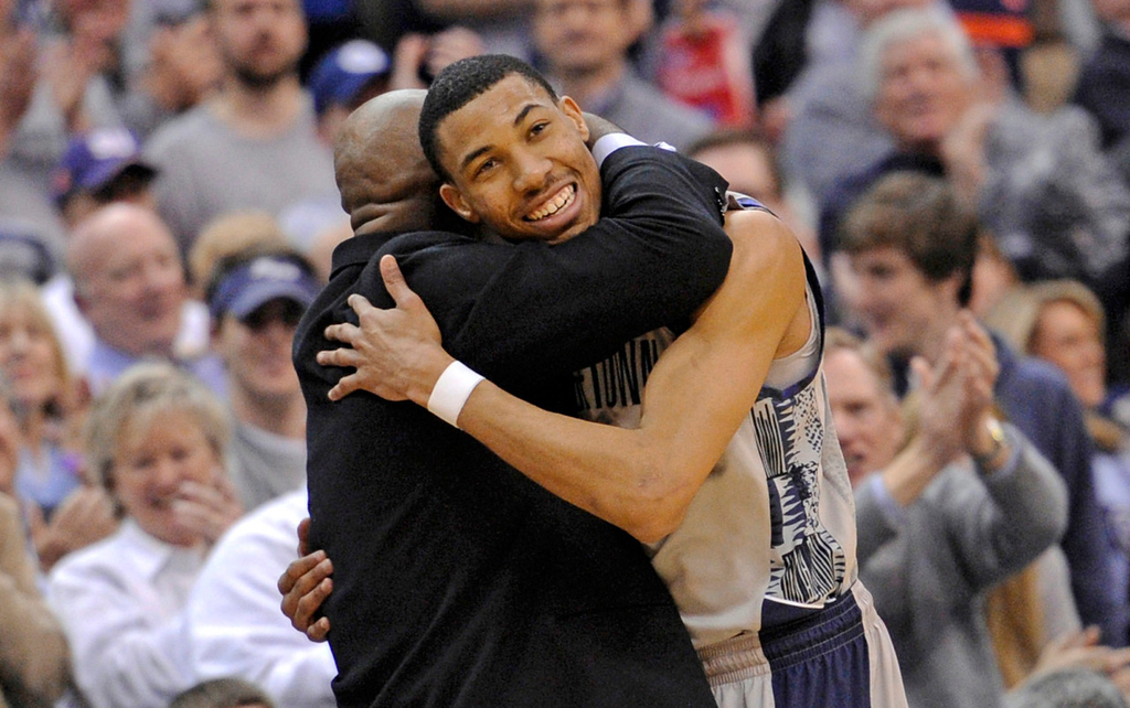 . 3.) Washington Wizards -- Otto Porter, small forward, Georgetown -- The 6-9 Porter resembles Tubby Smith�s former Kentucky star, Tayshaun Prince, with the ability to drive, shoot from three-point range and defend with a 7-foot wingspan. He should make an immediate impact.   (AP Photo/Nick Wass)