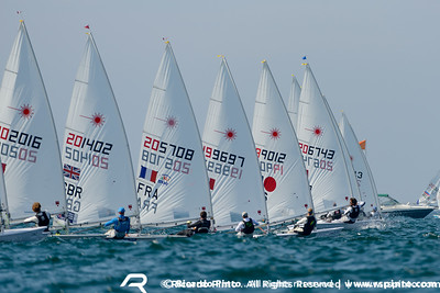 ISAF Worlds'14 D3 Racing